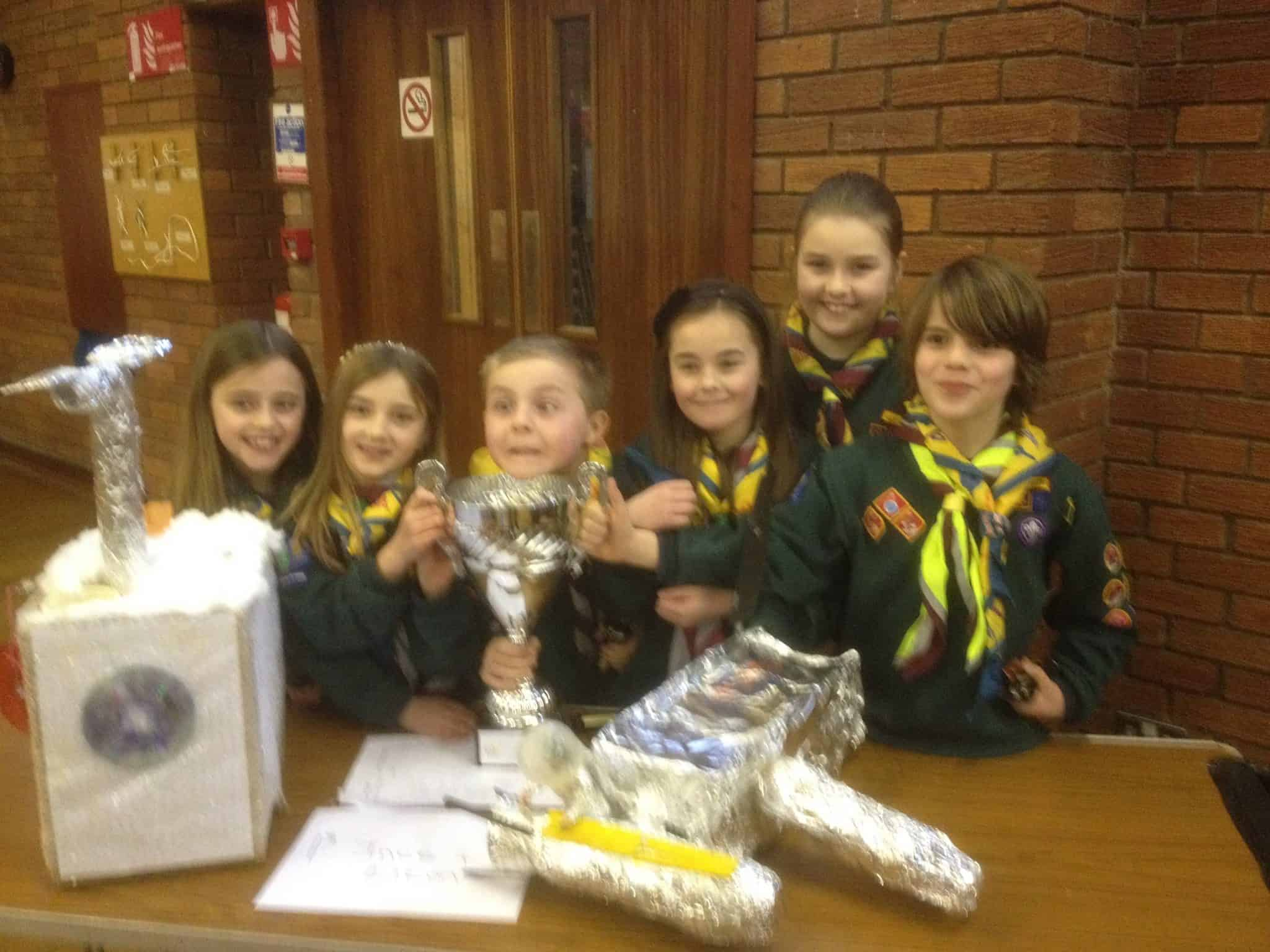 Cubs triumph at District Craft Competition